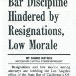 bar discipline hindered