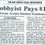 lobbyist pays $10,000